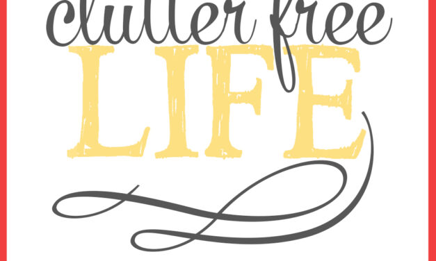 31 Days to a Clutter Free Life: Toys (Day 7)
