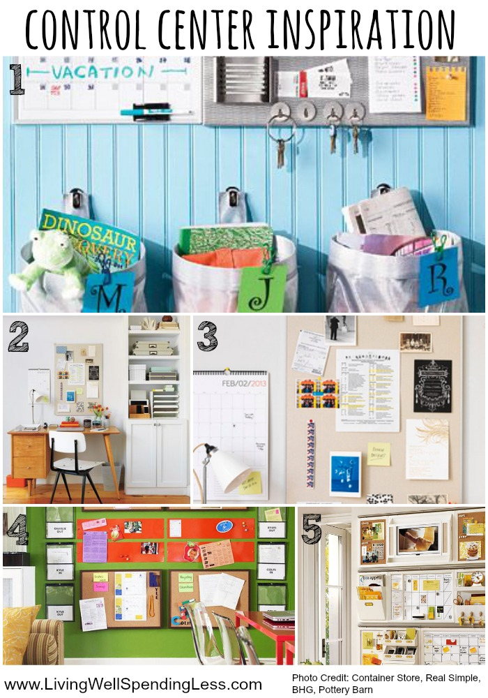 This vision board should motivate you to get organized.