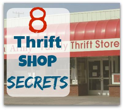 thrift shop secrets