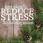 4 Ways to Reduce Stress Square