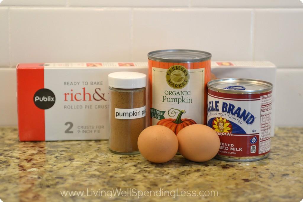 Easy 5 Ingredient Pumpkin Pie | Easy Pumpkin Pie Recipe | Homemade Pumpkin Pie | Pie Recipes | Pumpkin Pie | Simple Pumpkin Pie Recipe | Thanksgiving Pie | Pumpkin Pie from Scratch