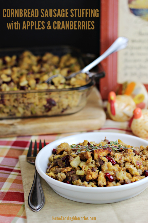 Cornbread-Sausage-Stuffing-with-Apples-and-Cranberries