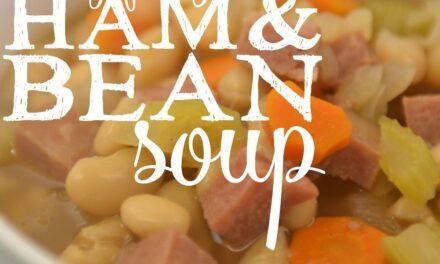Easy Freezer Ham & Bean Soup