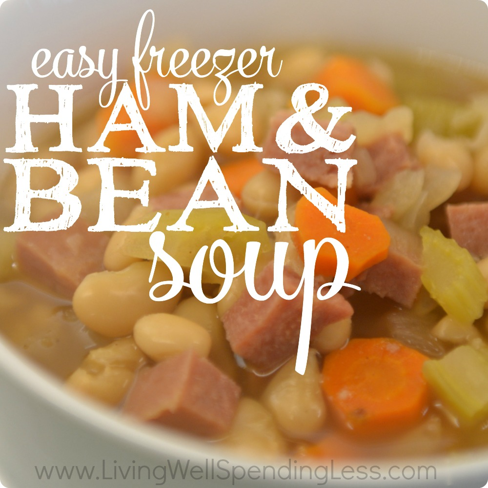 Easy Freezer Ham & Bean Soup
