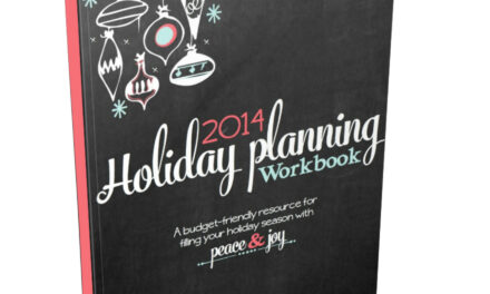 LWSL Holiday Planning Guide {Free Printable}