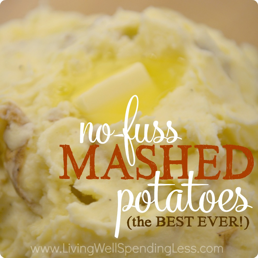 Best-Ever No-Fuss Mashed Potatoes