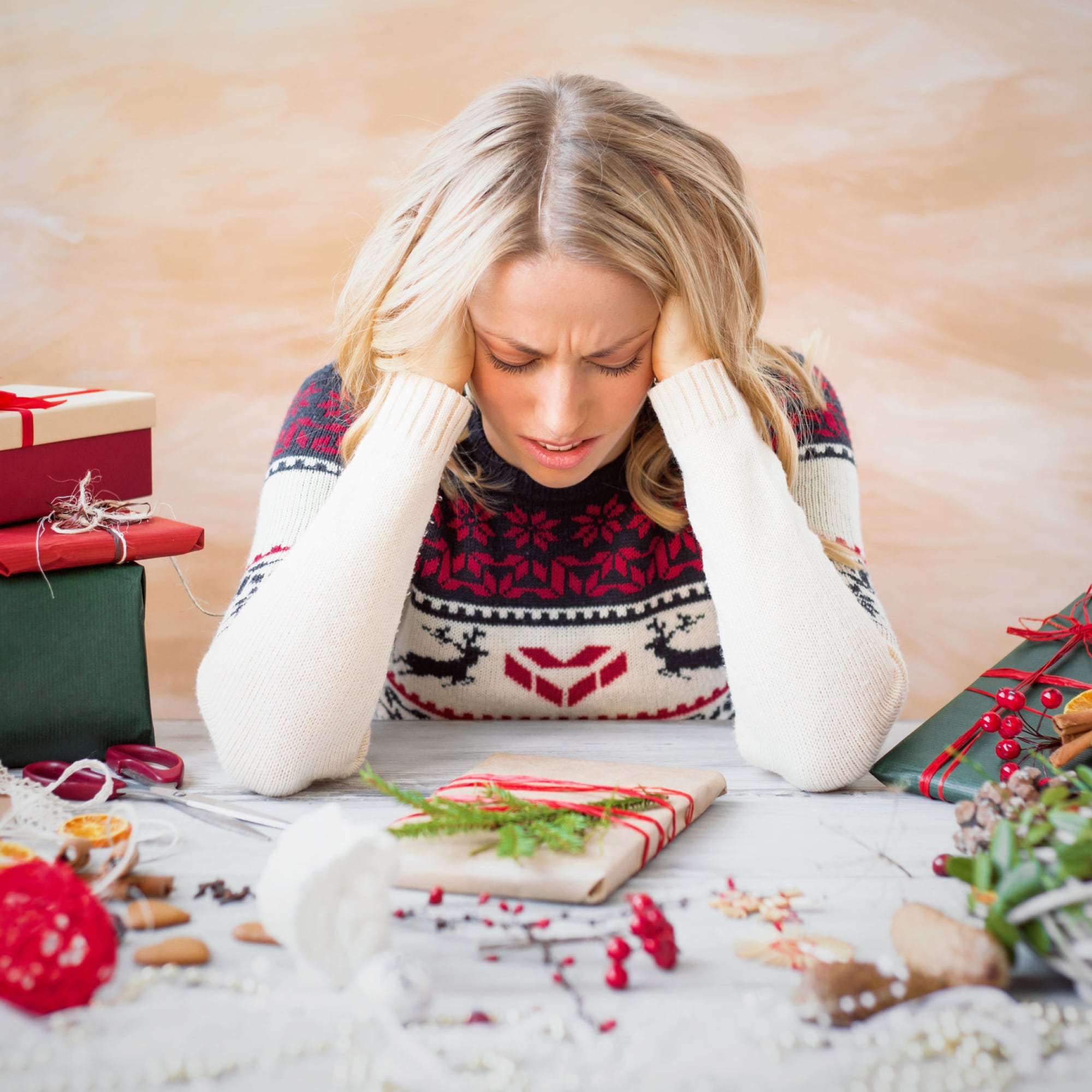 Fed up with holiday stress? The holidays are a time for celebrating, not worrying!