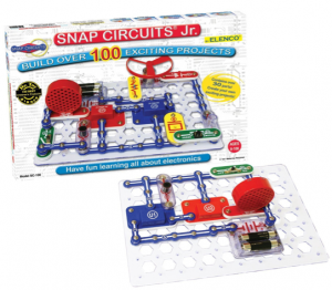 Snap Circuits Jr. kit makes a great, inexpensive gift for a kid!