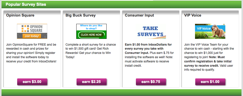 Earn more money by getting paid to take surveys