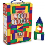 Wooden blocks are a classic toy for kids. Hours of building and fun are within this box.