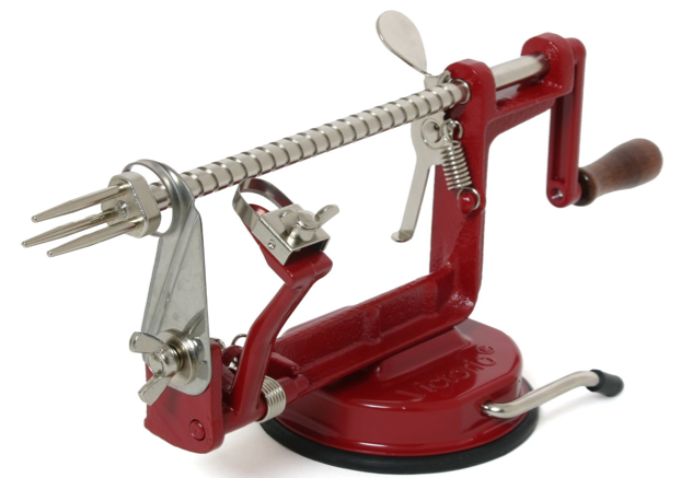 This Victorio Apple & Potato Peeler is the perfect gift for the handy baker or cook in your life.