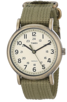 A classic Timex Weekender Watch is perfect for the savvy dresser in the family.