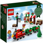 LEGO Christmas train and christmas scene set