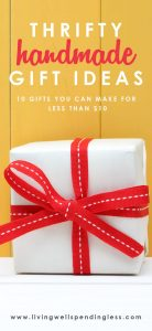 10 Gifts You Can Make for $10 or Less | DIY Gift Under $10 | Cheap Gift Ideas Under $10