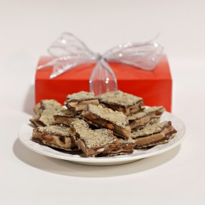 Coffee toffee for the family member with a sweet tooth.
