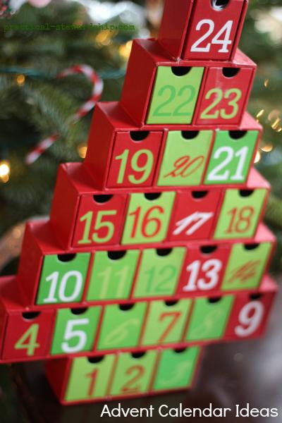 Living Advent Calendar Ideas : Weekend wandering living well spending less