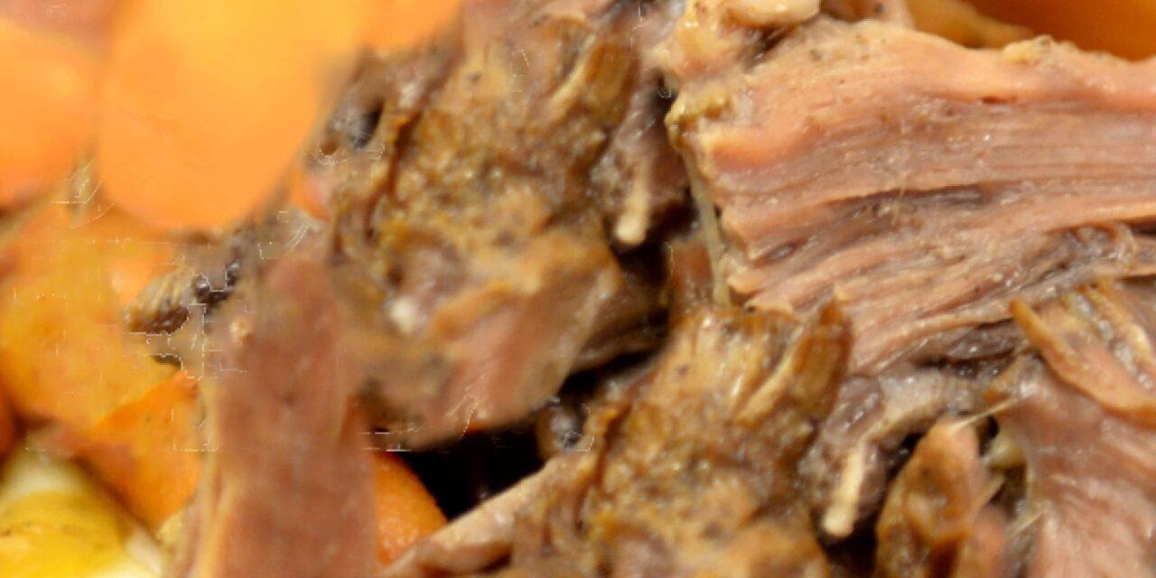 Easy Freezer Balsamic Roast Beef