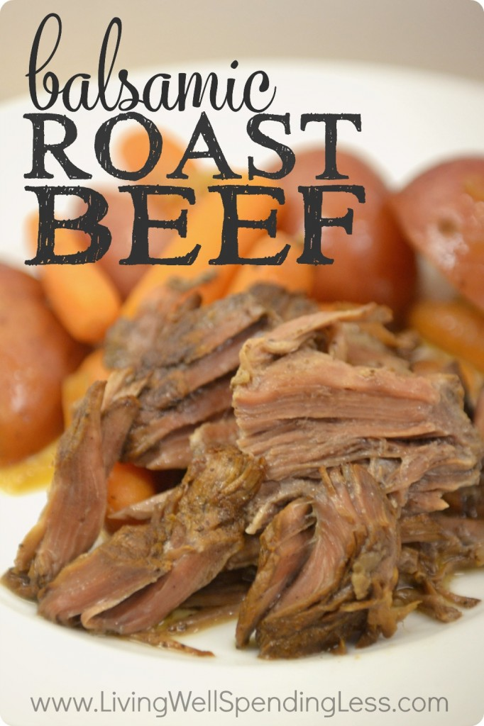 Easy Freezer Balsamic Roast Beef | 10 Meals in an Hour | Food Made Simple | Freezer Cooking | Freezer Meals | Main Course Meat
