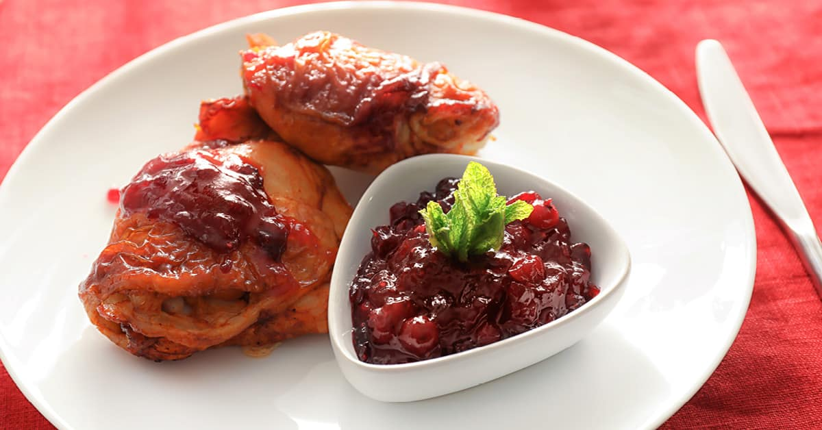 Easy Slow-Cooker Cranberry Chicken (It's Freezer-Friendly Too!)