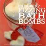Handmade Fizzing Bath Bombs!!