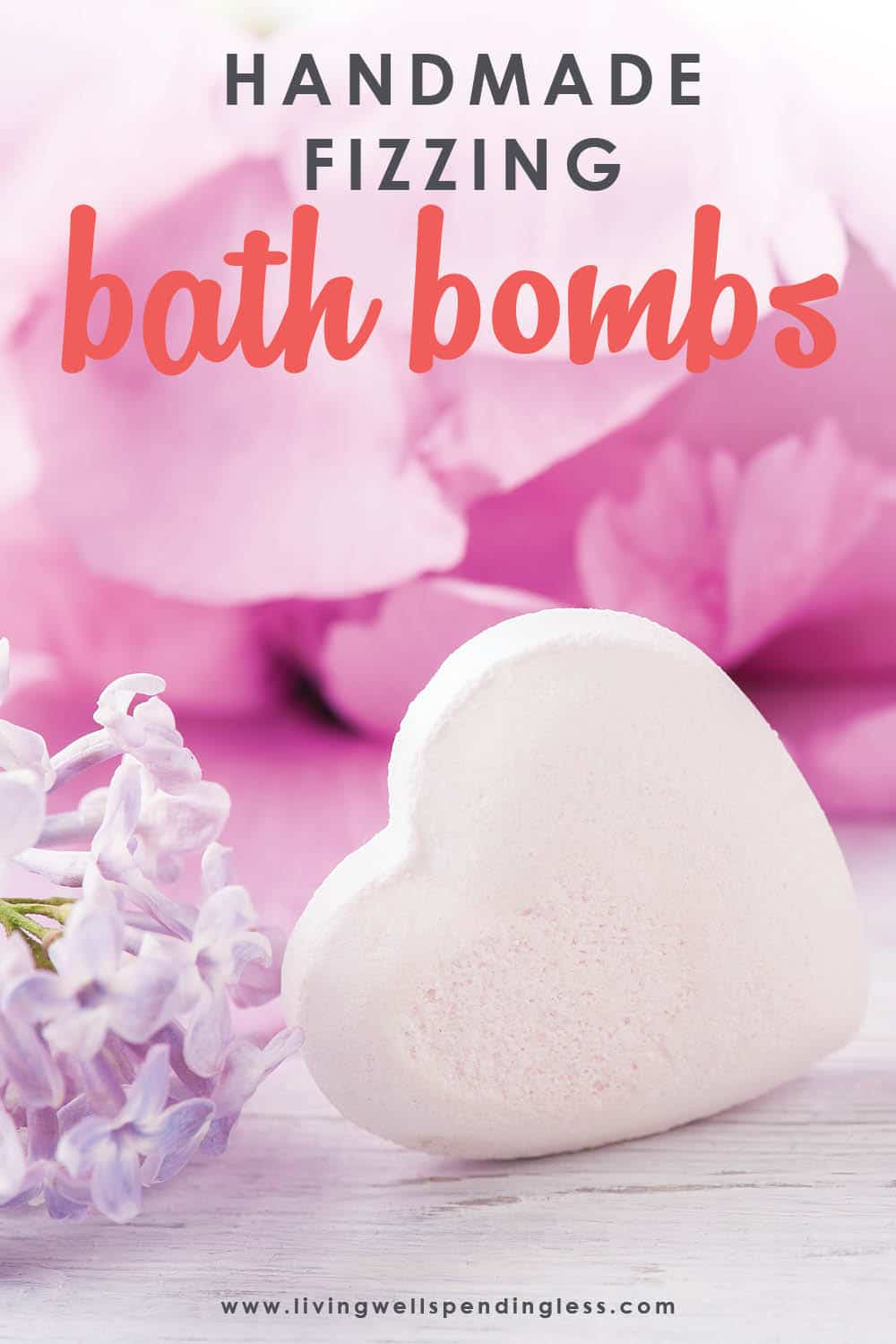 These handmade fizzing bath bombs are a breeze to make for the kids, and are a fantastic handmade gift for friends, neighbors, or teachers! Don't miss this detailed tutorial for step-by-step instructions on how to make your own homemade bath bombs.