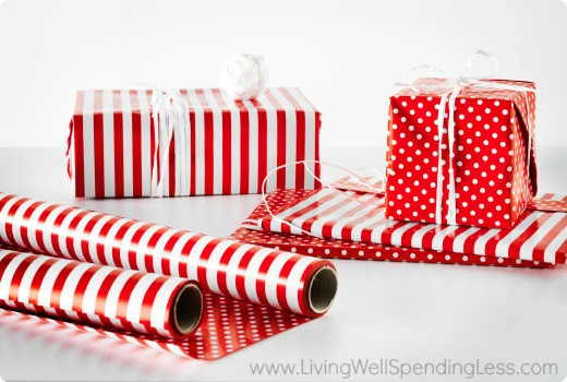How to Save Money on Wrapping Paper | Living Well Spending Less®