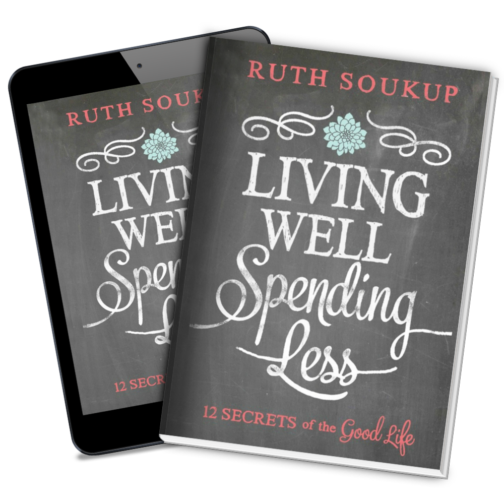 The LWSL book by Ruth Soukup has all the secrets to a good life.