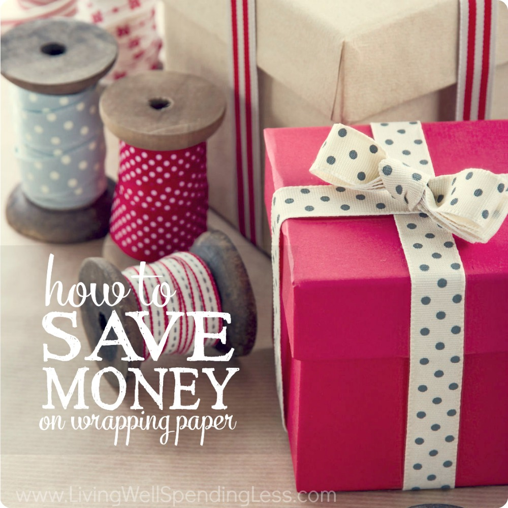 How to Save Money on Wrapping Paper