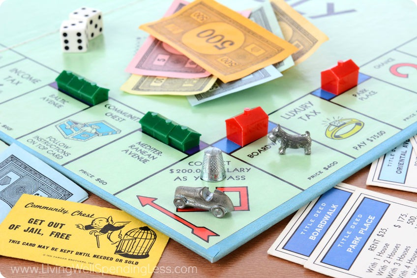 Wondering what to do over Christmas break? Host a game night with favorites like Monopoly.