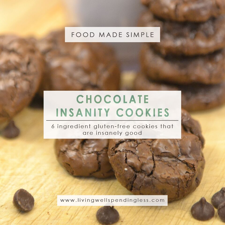 Flourless Chocolate Cookie | Choco Chip Cookies Recipe