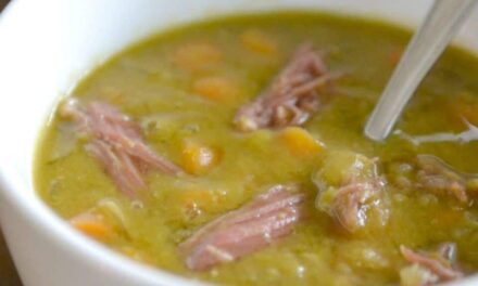 Easy Slow-Cooked Split Pea Soup