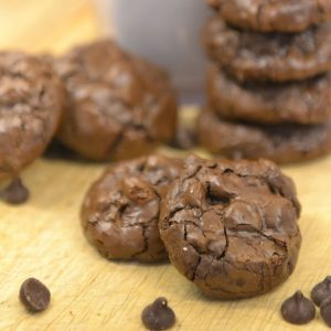 Flourless Chocolate Cookies | Chocolate Cookie Recipe