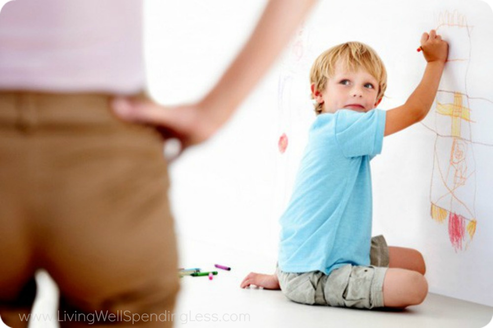 Moms shouldn't blame themselves when kids misbehave.