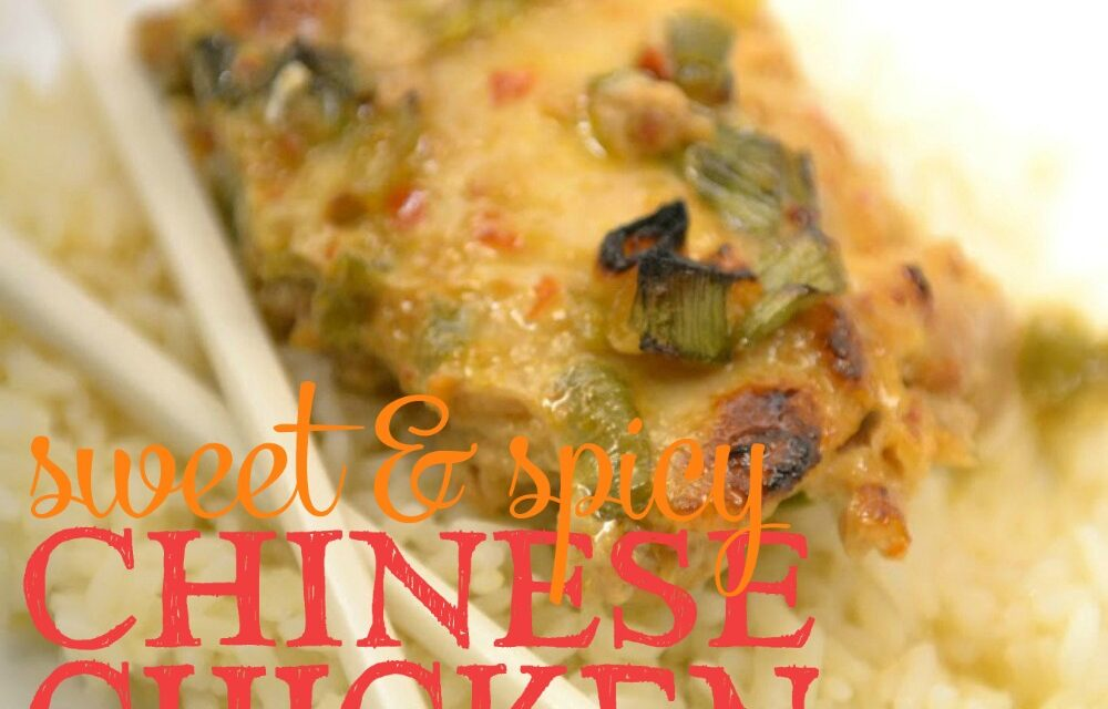 Sweet & Spicy Chinese Chicken