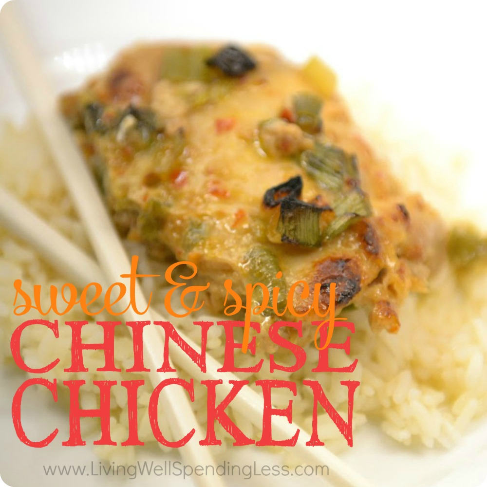 SWEET & SPICY CHICKEN Square