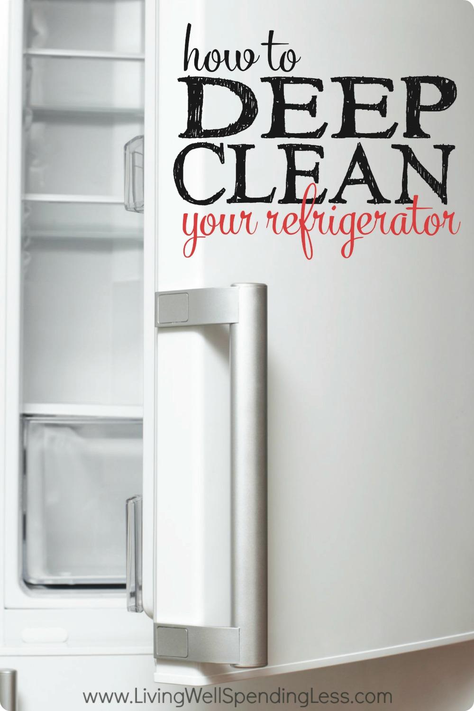 clean fridge vertical 1 living well spending less. Black Bedroom Furniture Sets. Home Design Ideas