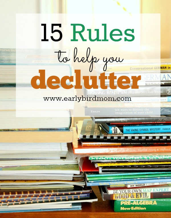decluttering-rules