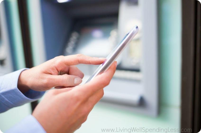 AVOID ATM FEES Bank App