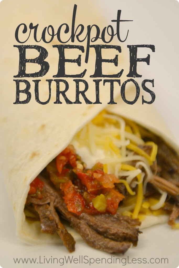 Crockpot Beef Burritos | 10 Meals in an Hour | Freezer Cooking | Main Course Meat | Meal Planning | Freezer Meals