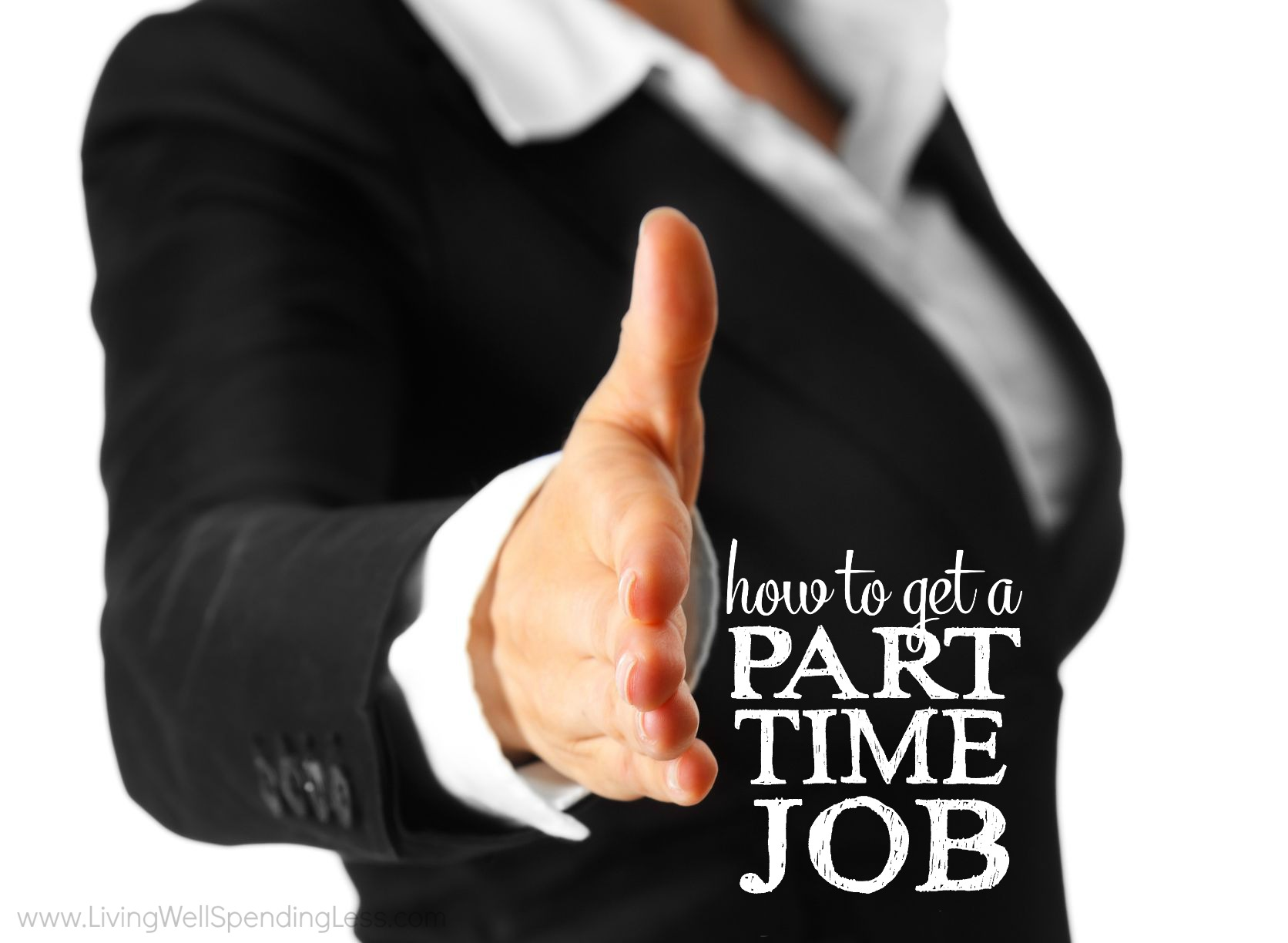 how to get a part time job