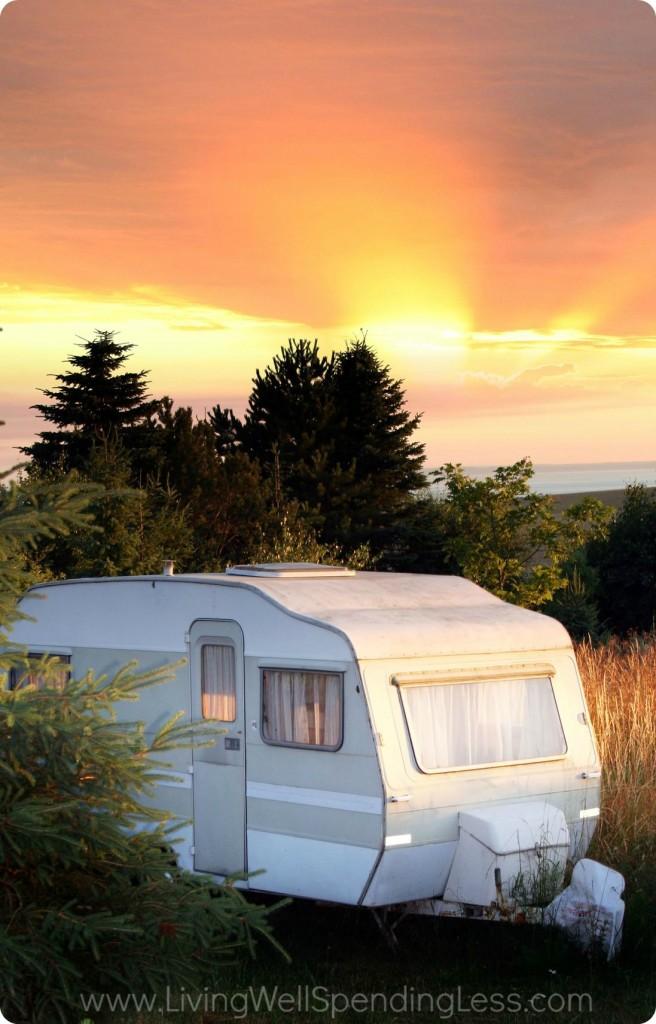 It's Okay to be a Little Broken  living in camper