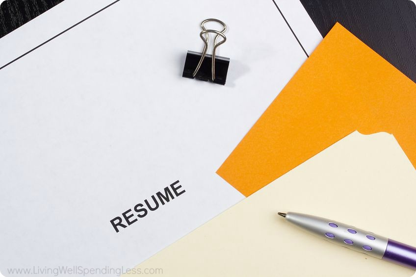 Prepare your resume ahead of time before looking for a part time job.