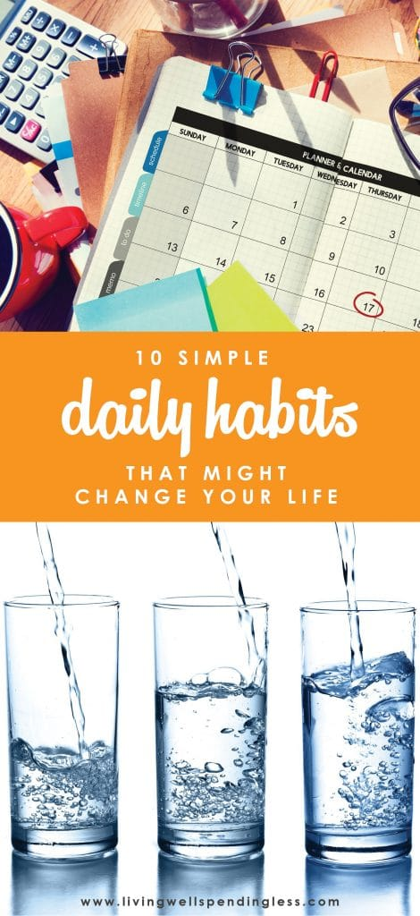 Want to be happier, healthier, and more successful in life? Making small but positive changes to your daily routine can not only reset your patterns, but actually help your brain work more efficiently and provide the much needed boost you need to get moving in the right direction. Don't miss these ten simple daily habits that might just change your life! 10 Life Changing Simple Habits | Change Your Life With Mini Habits | Life Change | Life Hacks |