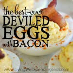 BEST EVER DEVILED EGGS WITH BACON SQUARE 1