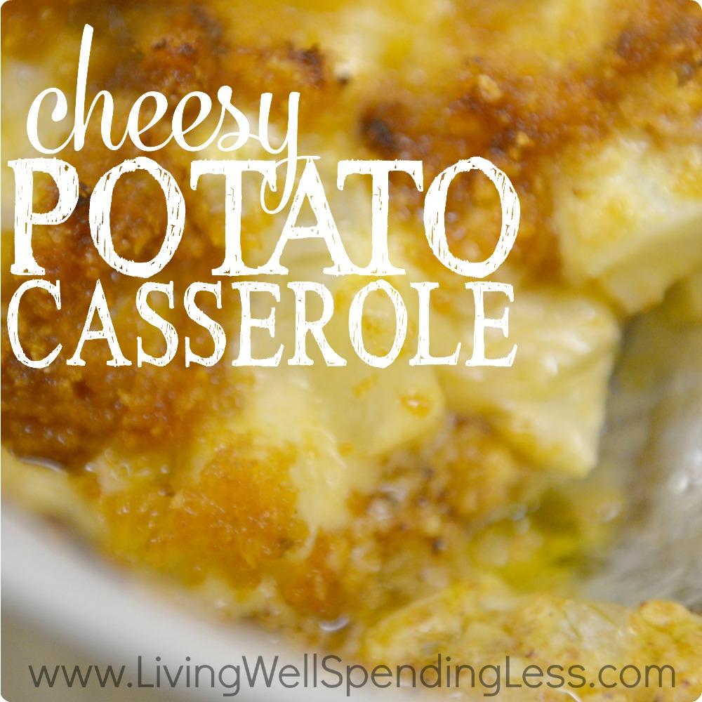 Easy Cheesy Potato Casserole | How to Make Funeral Potatoes