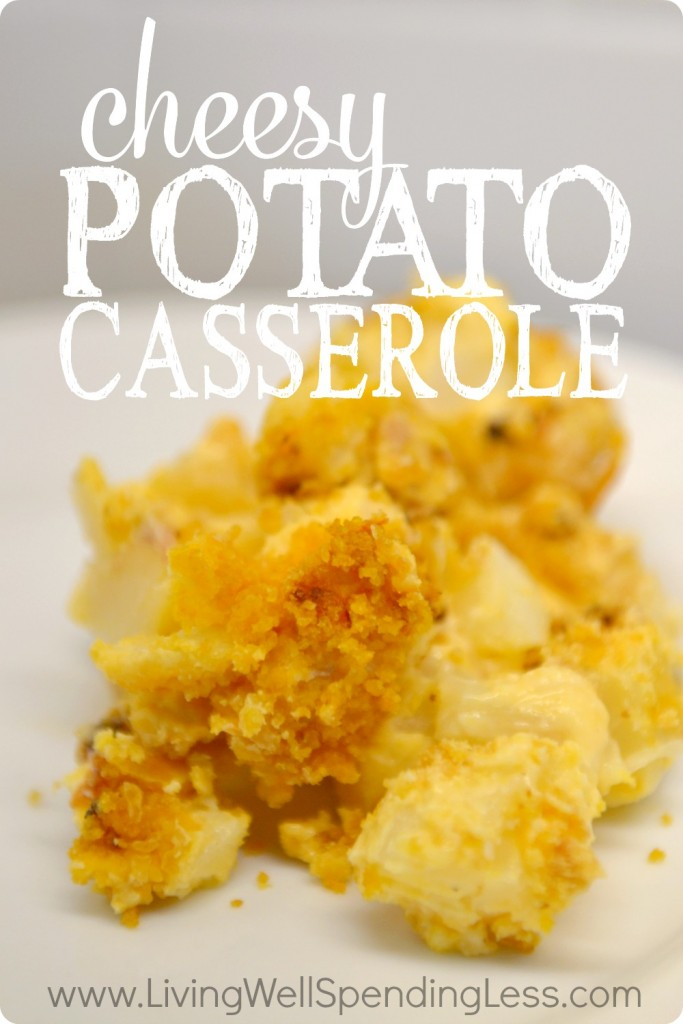 Easy Cheesy Potato Casserole | How to Make Funeral Potatoes