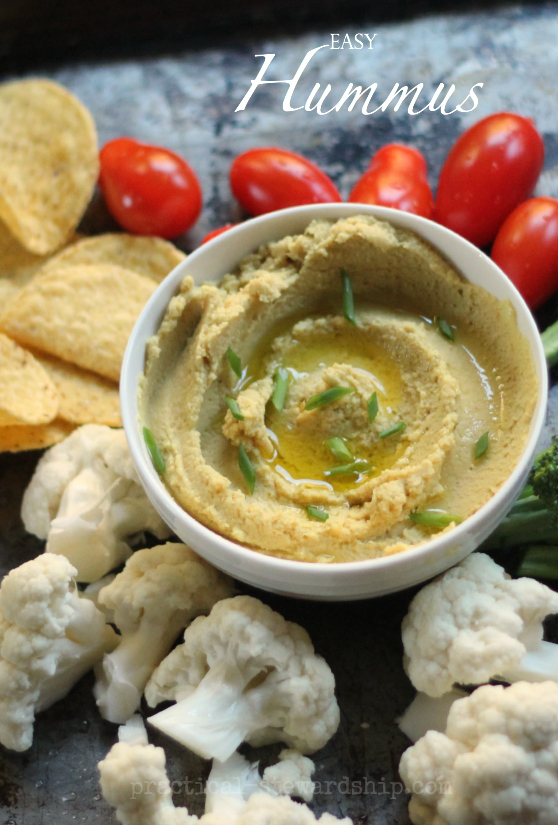 Easy-and-Basic-Hummus