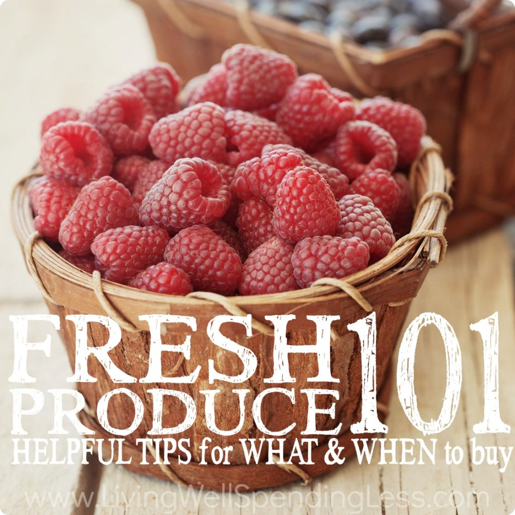 Fresh Produce 101 | Coupons 101 | Kitchen Saving Tips | Save on Food | Organic Food