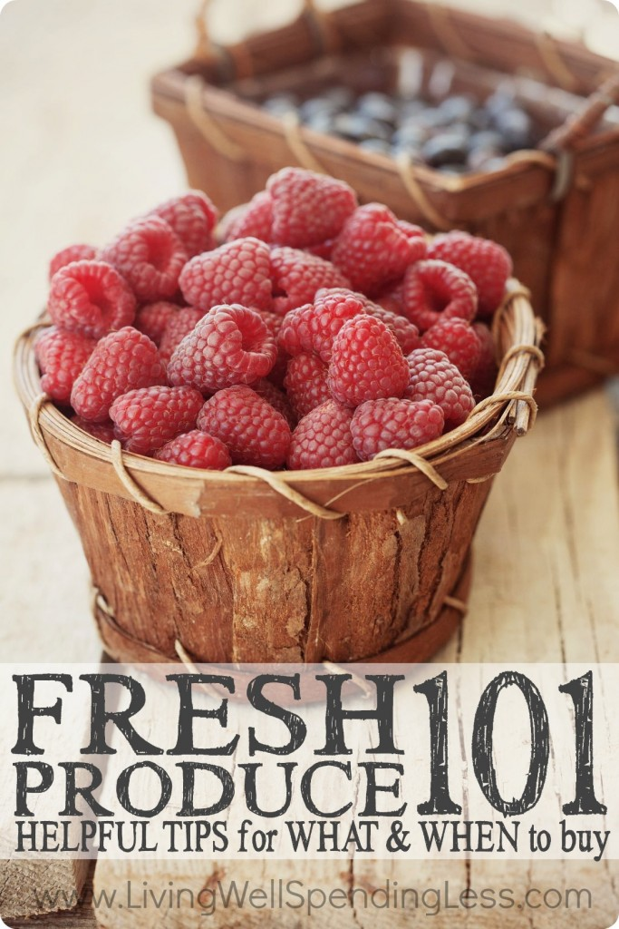 Fresh Produce 101 | Coupons 101 | Kitchen Saving Tips | Save on Food | Organic Food