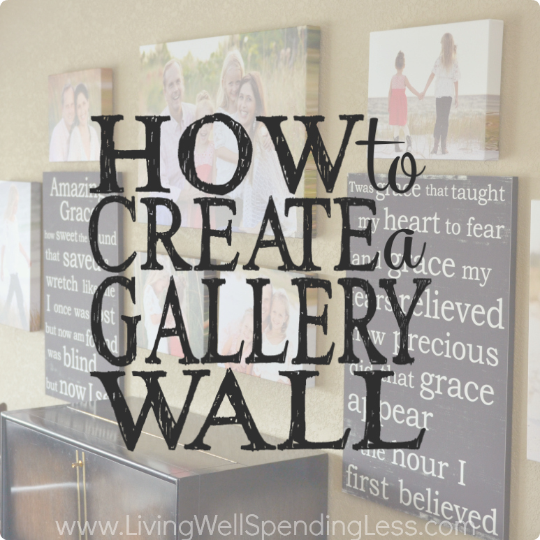 How to Create a Gallery Wall in 6 simple steps!